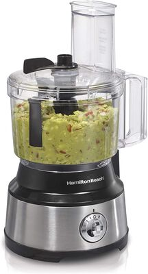 7. HAMILTON Beach 70730 Stainless Steel 10-Cup Versatile 2 Speed Easy Processing Vegetable Chopper