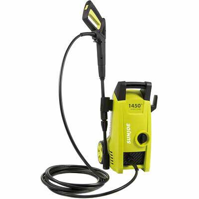 10. Sun Joe SPX1000 1450 Max 11.5-Amp PSI 1.45 GPM Electric Pressure Washer (Green)