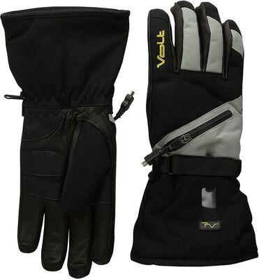 1. VOLT RESISTANCE Grey Medium GL-7V-TM Zipper Closure Waterproof Snow Gloves for Men