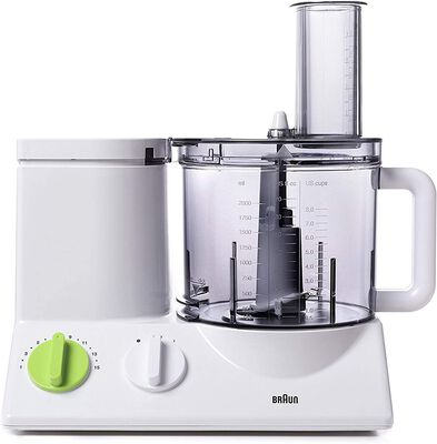 2. BRAUN Ultra-Quiet 12 Cup Powerful Motor 7 Blades Food Processor & Vegetable Chopper