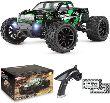4. HAIBOXING 1:18 36KM High Speed All Terrain 18859E 4WD 2.4 GHz Waterproof RC Car