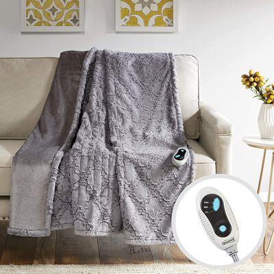 9. Beautyrest Brushed Fur Electric Blanket - 5 Year Warranty