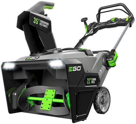 1. EGO Power SNT2100 21 Inch 56V Cordless Peak Power 51lbs Battery Powered Snow Blower
