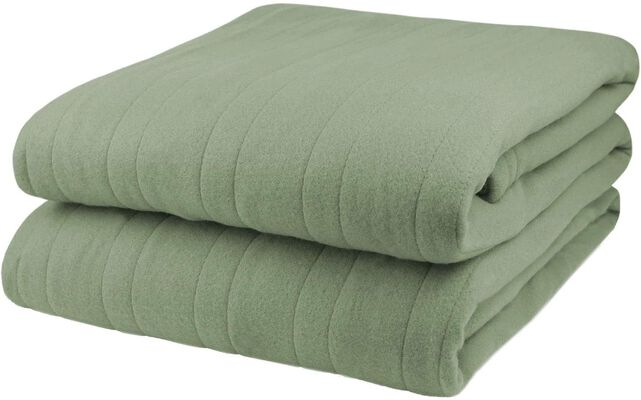 1. Pure Warmth Heated Electric Blanket