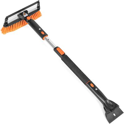 4. Snow MOOver 39 Inch Snow Brush with Ice Scraper