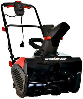 6. PowerSmart 18Inch Remove Width DB5017 60 Hz Corded Single Stage 15 AMP Electric Snow Blower