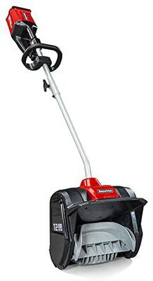 7. SNAPPER 19.7lbs 12Inch Clearing Width Ergonomic Handle XD 82V Cordless Electric Snow Shovel
