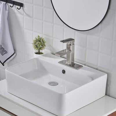 10. VOTON Bathroom Faucet - Brushed Nickel