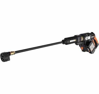 2. WORX WG644 40V 2 X 20V Batteries Power Share Portable Power Cleaner (Black & Orange)