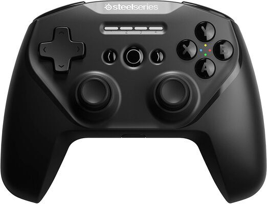 5. SteelSeries High-Performance Dual Wireless Connection Stratus Mobile Gaming Controller