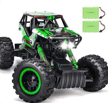 8. DOUBLE E 1:12 All Terrain 4WD Monster Trucks Headlight High-Speed RC Car Vehicle