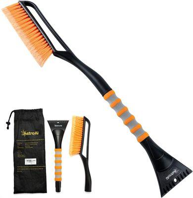 9. AstroAI 27 Inch Snow Brush & Detachable Ice Scraper