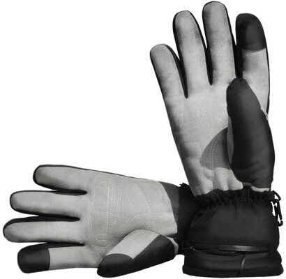 7. AROMA Windproof Breathable Electric Waterproof Heated Gloves for Men & Women