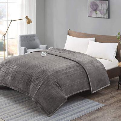 6. Degrees of Comfort Electric Blanket, Grey