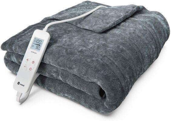 7. Vremi Electric Blanket - 6 Heat & 8 Time Settings
