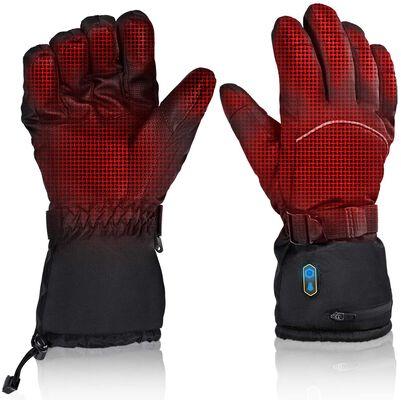 10. GUOGUO Long Time Heating Waterproof Arthritis Heated Gloves for Women & Men for Camping