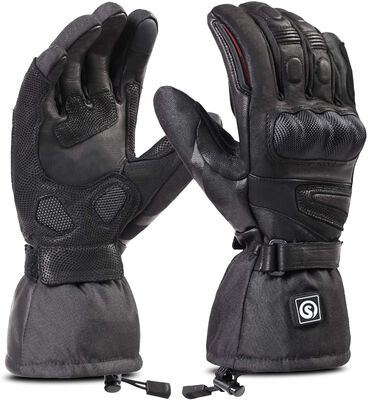 2. DAY WOLF Supreme Material Rechargeable Battery Heated Gloves for Women & Men for Hiking