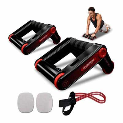 2. HARISON Knee Pad Ab Roller Wheel Home Gym Fitness Equipment for Home Office Workout