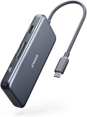 6. Anker USB C Hub Adapter with 4K HDMI