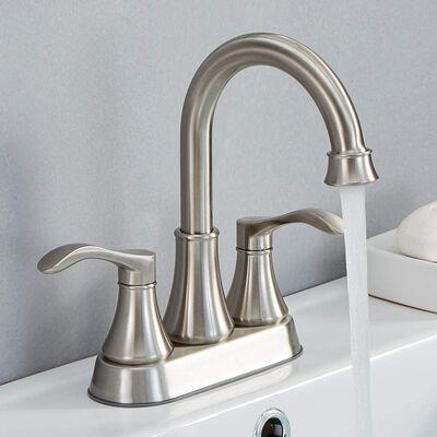 8. VALISY Lead-free 2-Handle Bathroom Sink Faucet