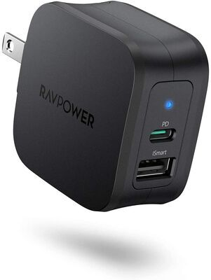 3. RAVPower 2-Port USB Wall Charger