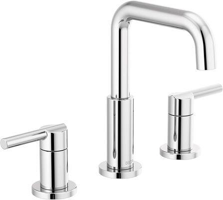 1. Delta Faucet Bathroom Faucet, Chrome