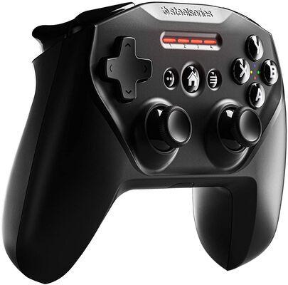 6. SteelSeries Bluetooth Built-in Battery Clickable Joysticks Apple Licensed Mobile Gaming Controller