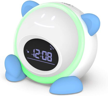 5. Windflyer Kids' Alarm Clock with Facial Expressions