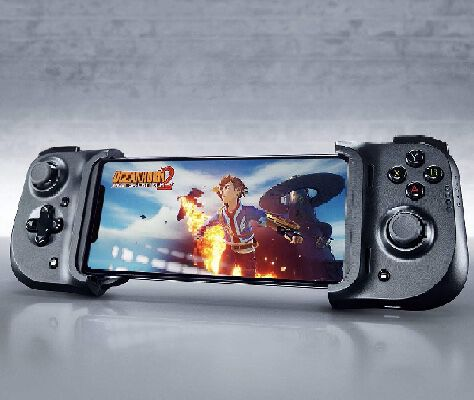 1. Razer Kishi MFi-Certified Gamepad Mobile Game Controller for iPad, iPhone X & Apple Arcade