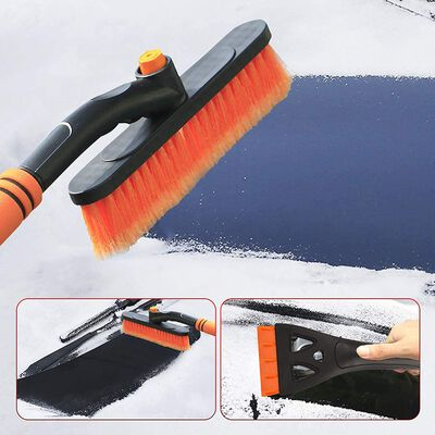 7. YunGuoGuo Car Snow Brush & Detachable Ice Scraper