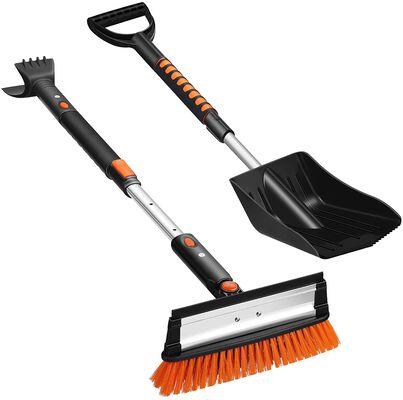 5. Unomor 5-in-1 Adjustable Glass Wiper & Snow Brush Ice Scraper Snow Shovel Kit for Outdoor