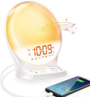 9. Mesqool Light Alarm Clock with a Battery Backup